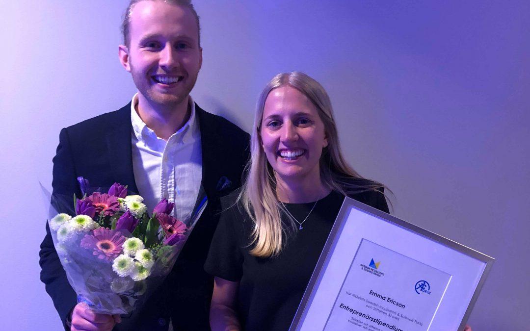 Atium receives ÅForsk Entrepreneurship Scholarship