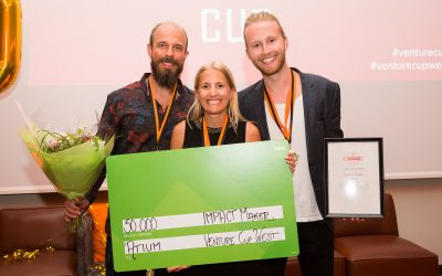 Atium wins Impact Maker award in Venture Cup