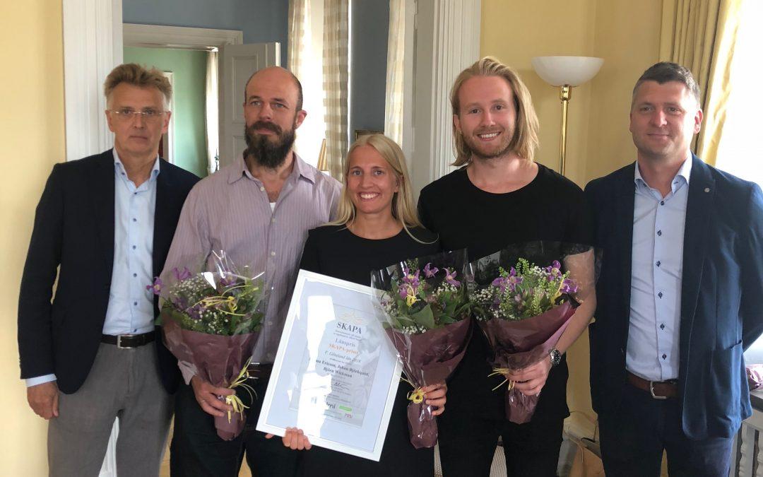 Atium regional winner of the SKAPA award