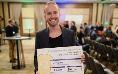 Atium 2nd in EIT RawMaterials Business Idea Competition in Budapest